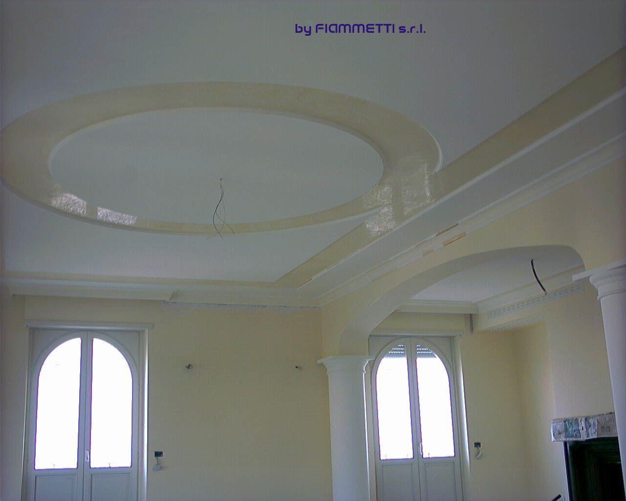 Decorazione soffitti in gesso lago di garda - Decorazioni in gesso ...