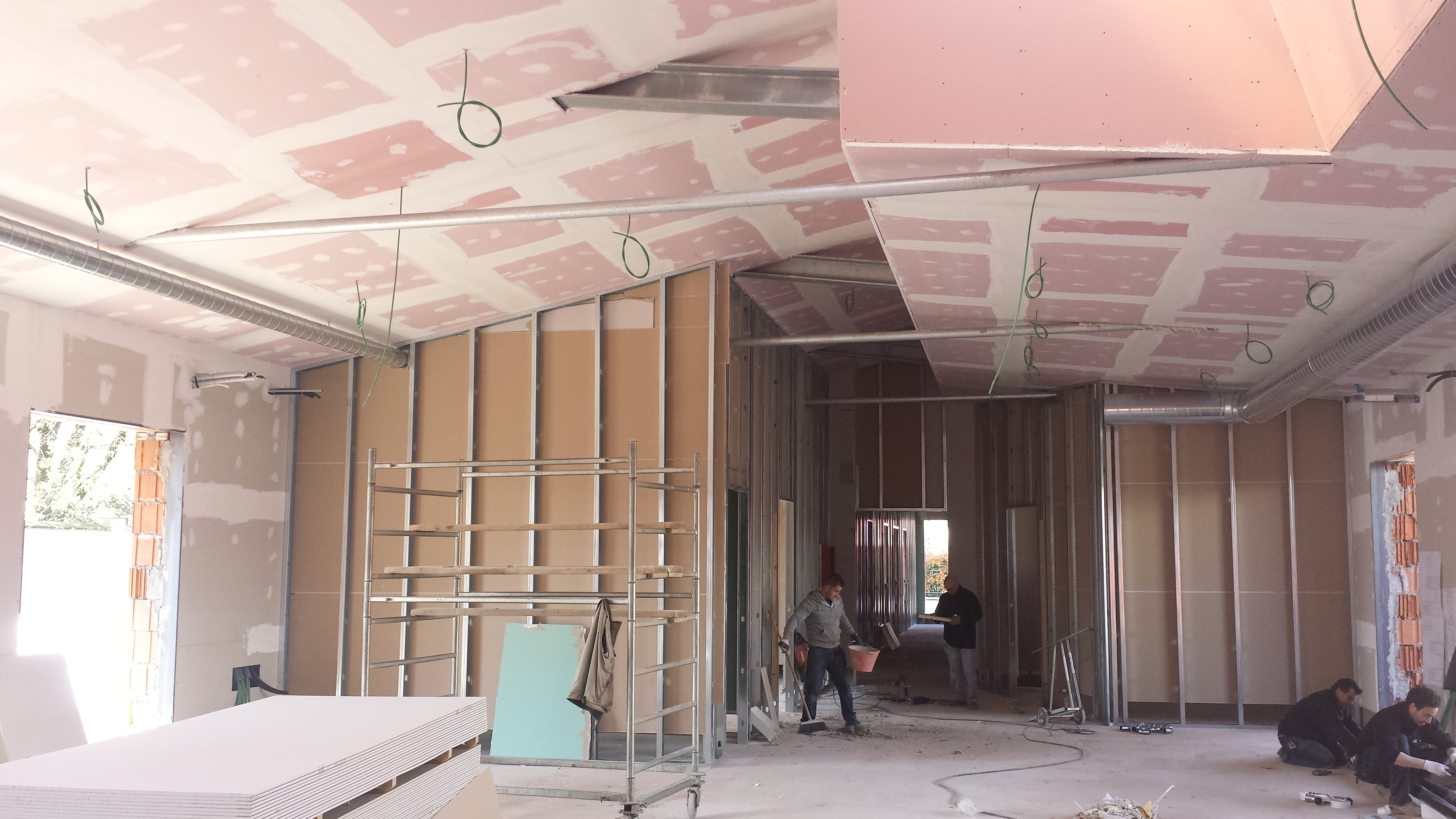 Decori soffitto polistirolo: controsoffitti   pareti design ...